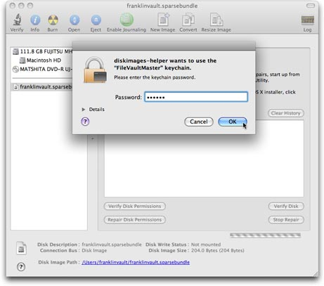 Repairing a FileVault-protected Home folder